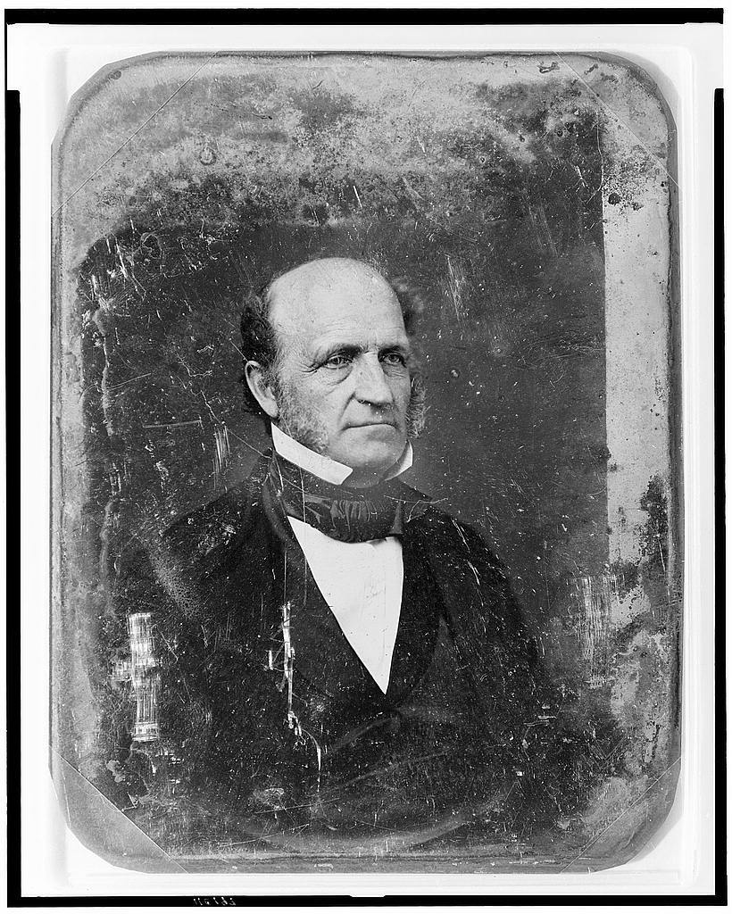 [Unidentified man, possibly Marshall P. Wilder, head-and-shoulders portrait, three-quarters to right]
