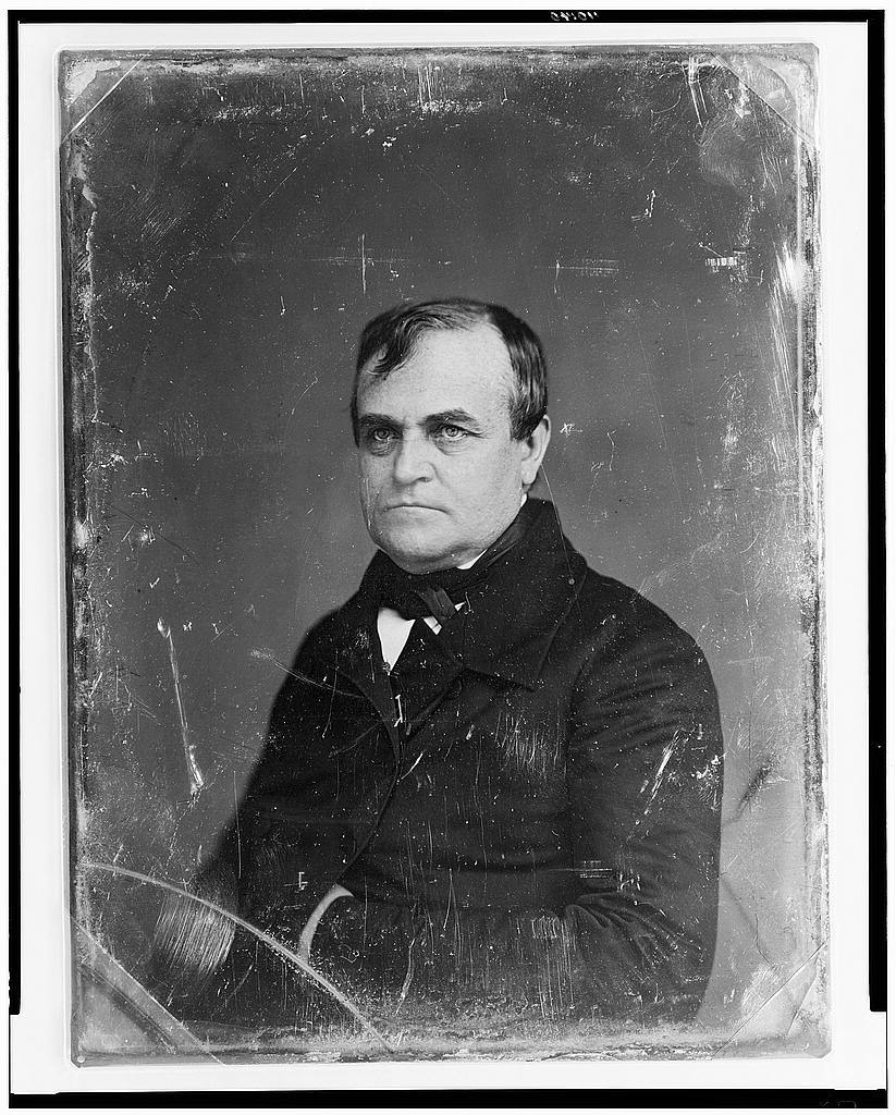 [Unidentified man, probably Thomas Wilson Dorr, head-and-shoulders portrait, facing front]