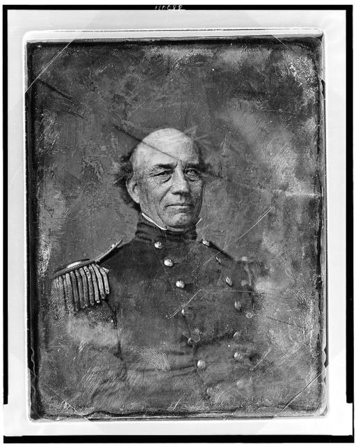[Unidentified U.S. Army officer, head-and-shoulders portrait, slightly to the right, in military uniform]