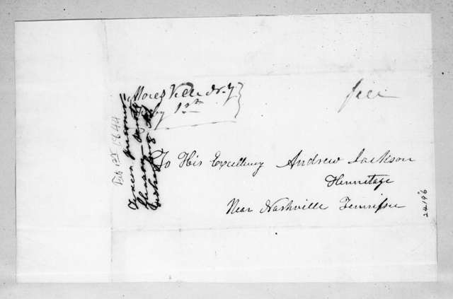 Unknown to Andrew Jackson, February 1, 1844