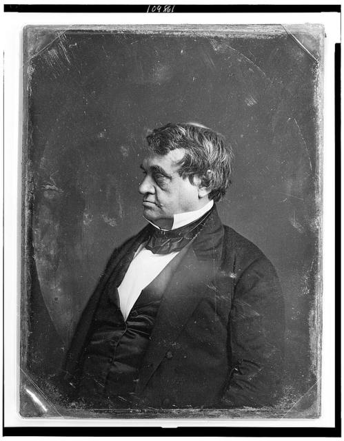 [Walter Restored Jones, half-length portrait, nearly in profile to left]