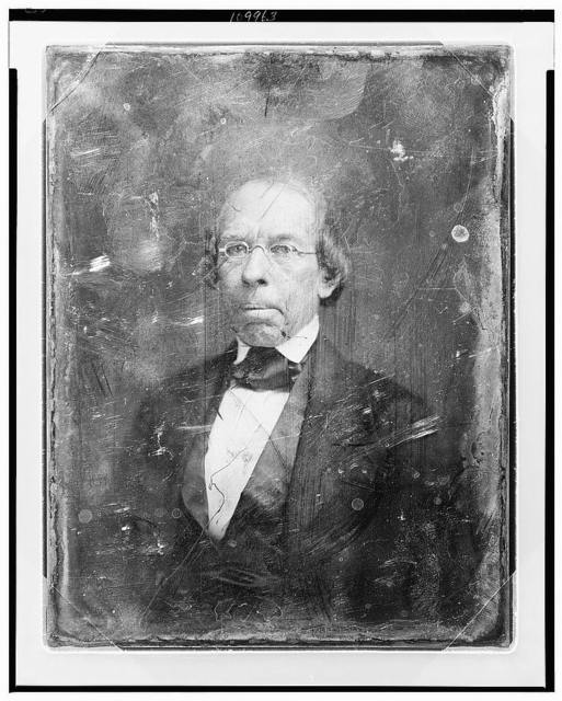 [William Upham, head-and-shoulders portrait, slightly to the left, eyes front]