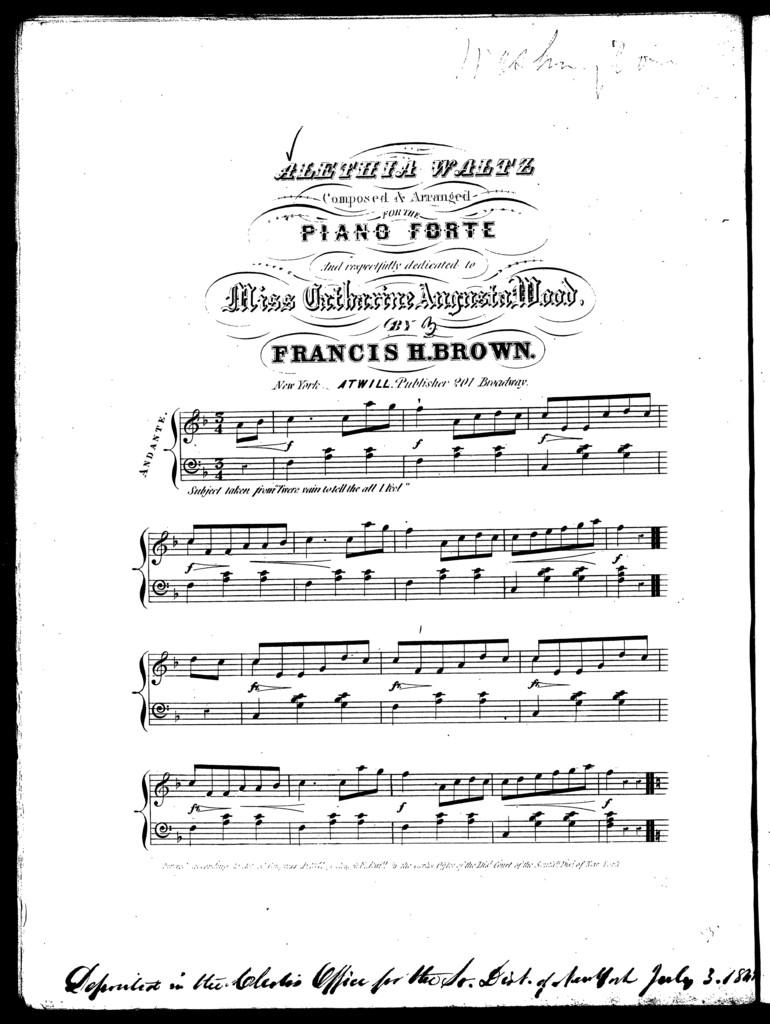 Alethia waltz