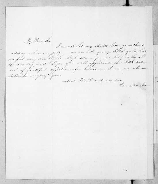 Amanda M. James to Andrew Jackson, May 30, 1845