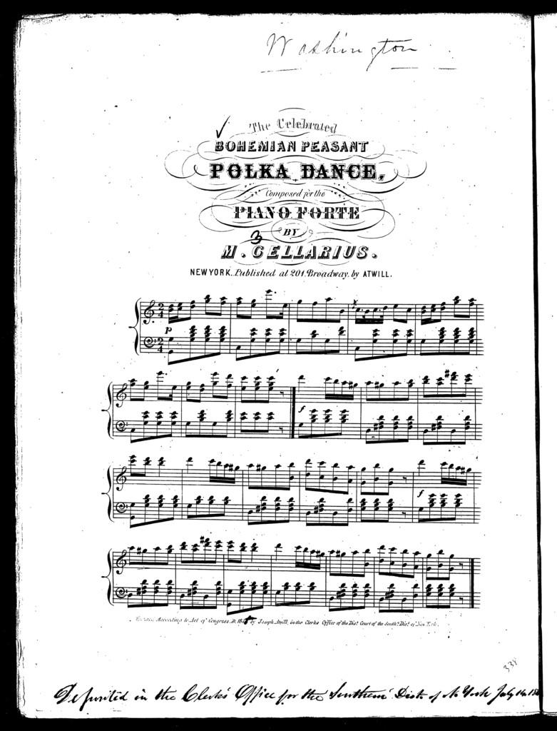 Bohemian peasant polka dance