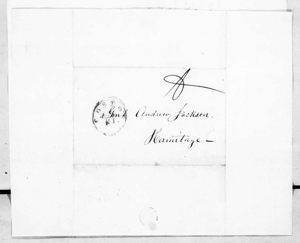 Curtis Guild, Jr. to Andrew Jackson, April 15, 1845