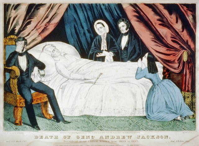 Death of Genl. Andrew Jackson: President of the United States from 1829 to 1837