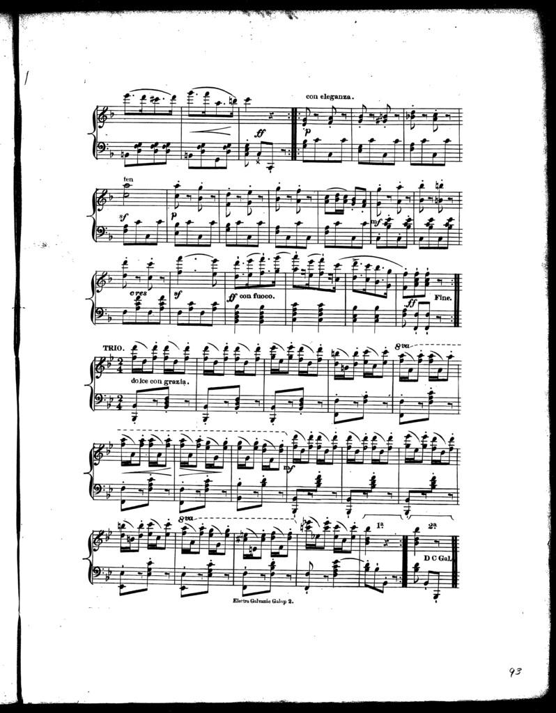 Electro galvanic galop, op. 51, no. 7