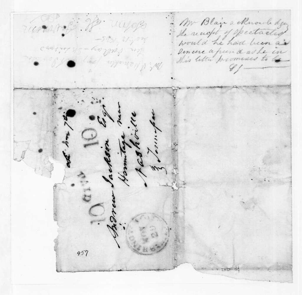 Francis Preston Blair to Andrew Jackson, Jr., November 27, 1845