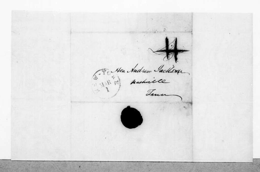 George A. Carnes to Andrew Jackson, March 1, 1845