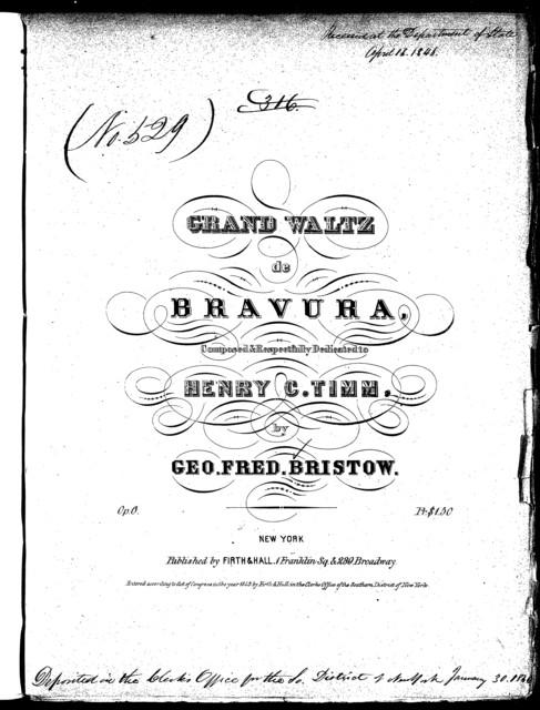 Grand waltz de Bravura, op. 6