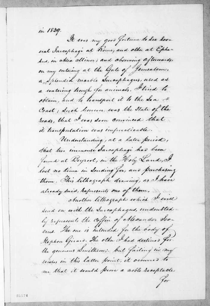 Jesse Duncan Elliott, March 18, 1845