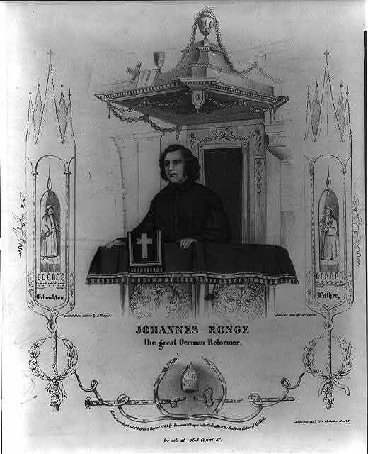 Johannes Ronge, the great German reformer