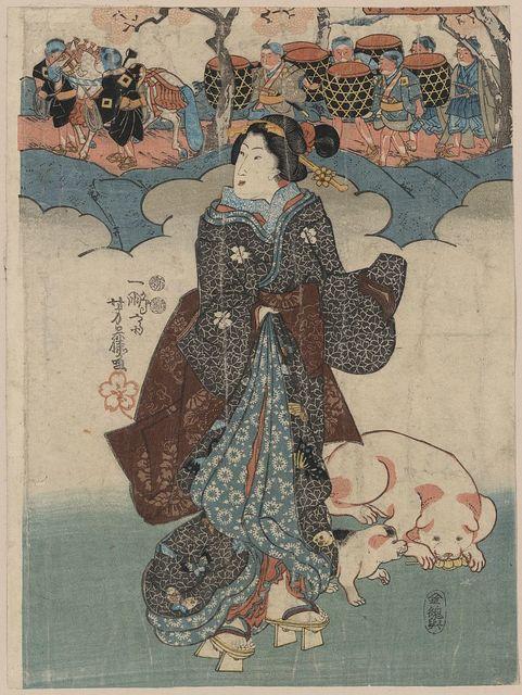 Kodomo gyōretsu to fujin