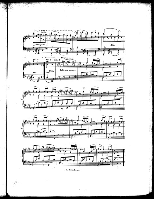 Le  bouton de rose, op. 42, no. 1