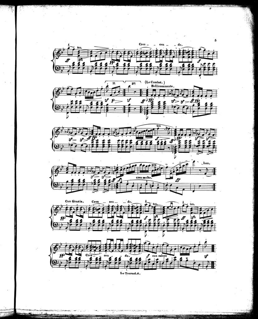 Le  tournoi, op. 47