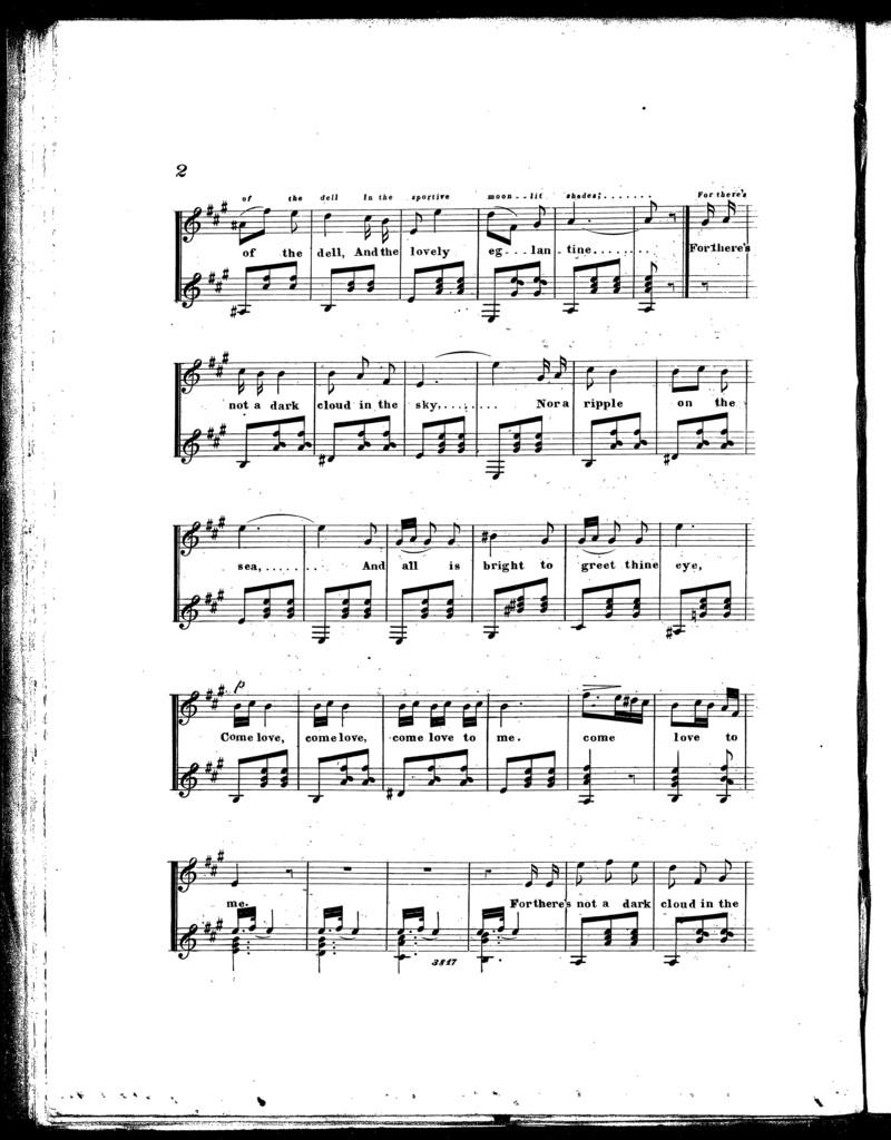 Let sweet chime, serenade