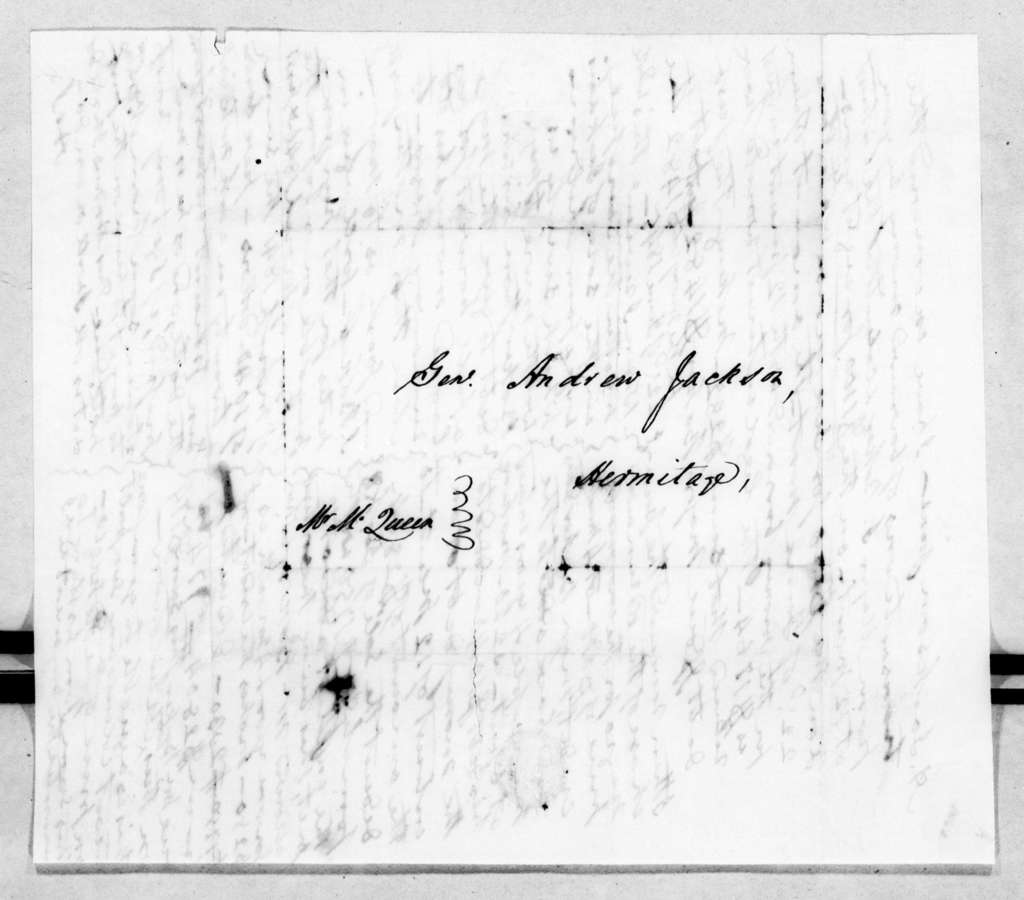 M. Queen to Andrew Jackson, Jr., June 22, 1845