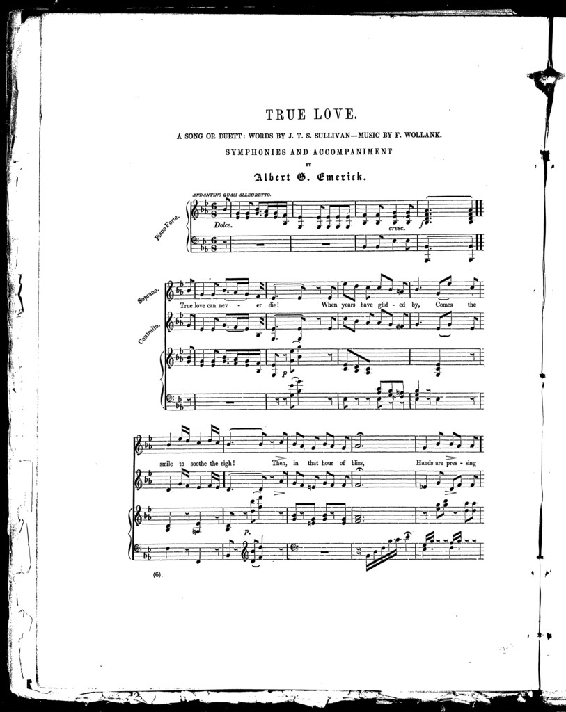 Melodies, no. 1