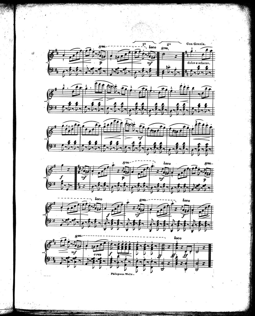 Philopano waltz, op. 50, no. 3