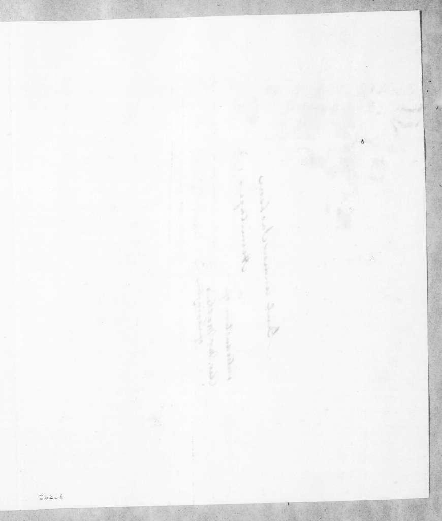 Richard Owen Currey to Andrew Jackson, April 24, 1845