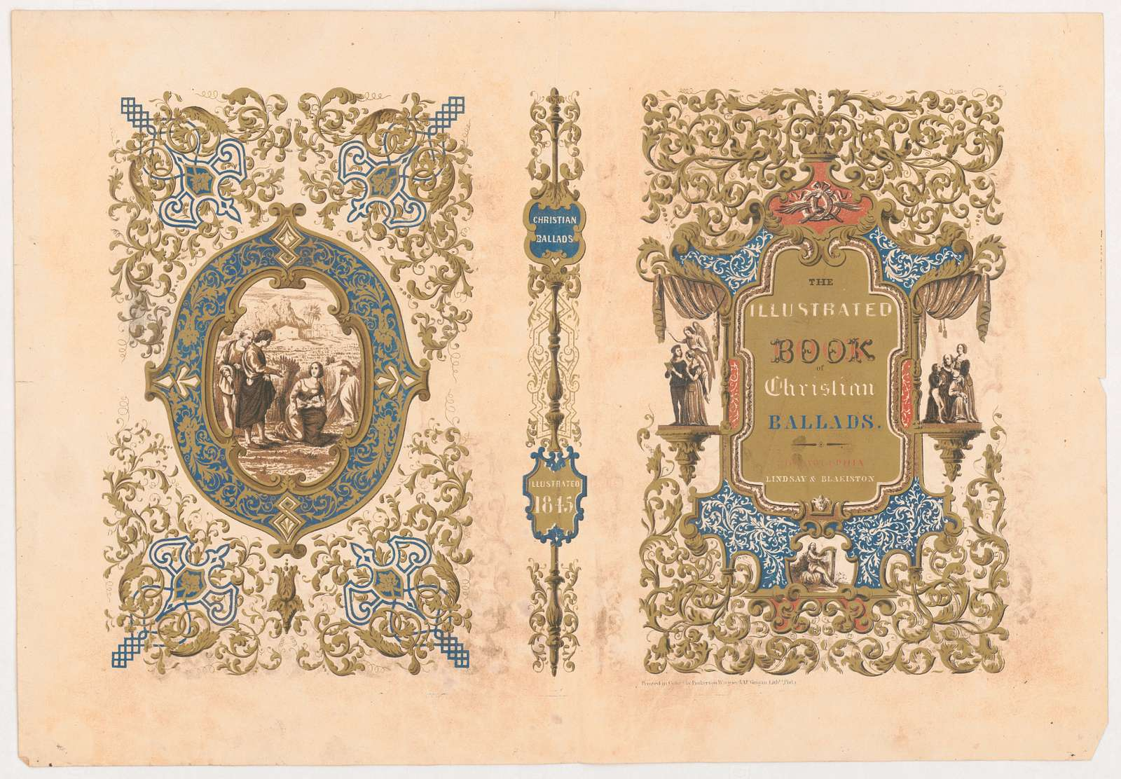 The illustrated book of Christian ballads