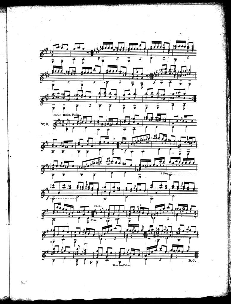 Three favorite polkas