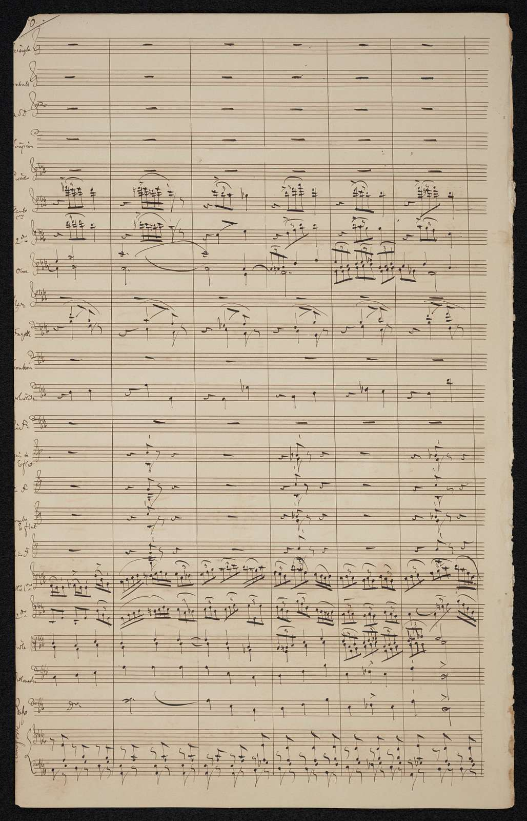 To the spirit of Beethoven : the monumental symphony for a grand orchestra