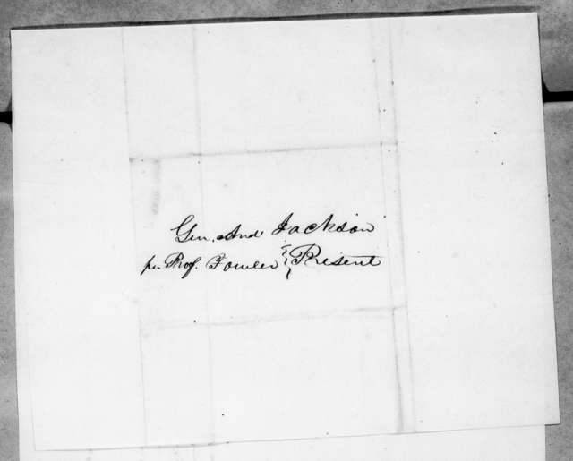 Tolbert Fanning to Andrew Jackson, May 30, 1845