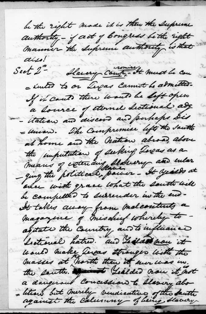William Henry Haywood, Jr. to Andrew Jackson, January 2, 1845