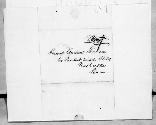 William. L. Plumer to Andrew Jackson, May 19, 1845