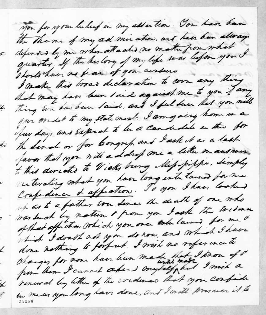 William McKendree Gwin to Andrew Jackson, April 28, 1845