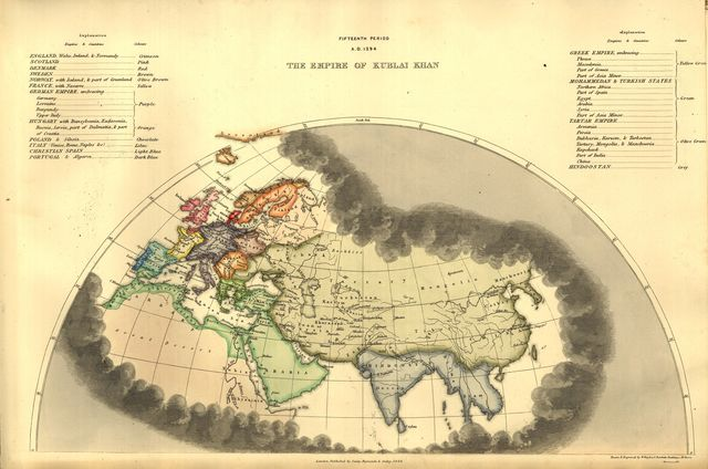 An historical atlas, in a series of maps of the world as known at different periods, constructed upon an uniform scale, and coloured according to the political changes of each period /