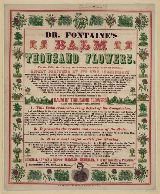 Dr. Fontain's balm of thousand flowers