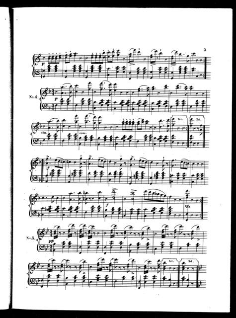 Excelsior waltzes, op. 20