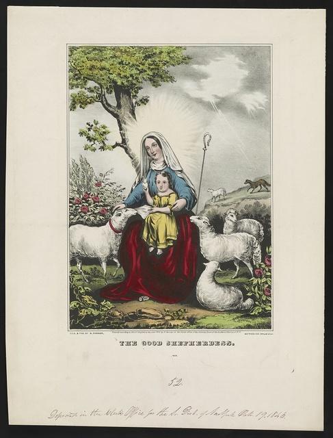Good shepherdess