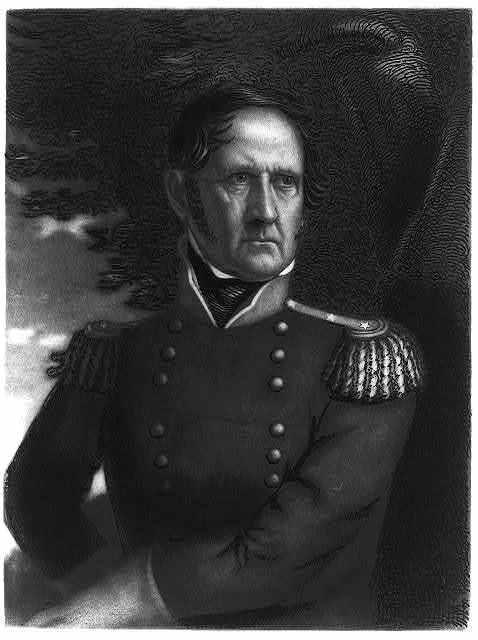 Major General Winfield Scott / engraved by T.B. Welch.