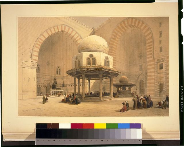Mosque of Sultan Hassan, Cairo / David Roberts, R.A.