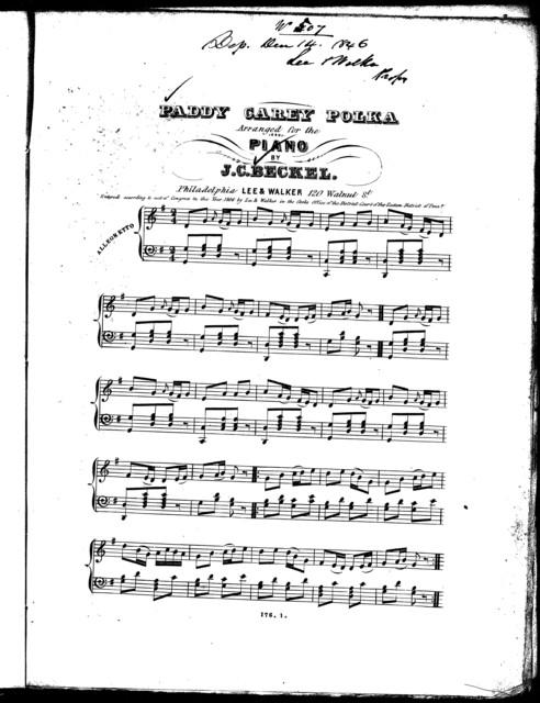 Paddy Carey polka