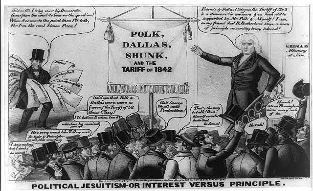 Political Jesuitism--or interest versus principle