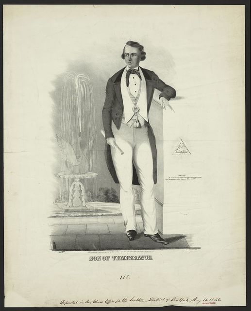 Son of temperance / E. Forbes del. ; lith. of John H. Hall, Alb.