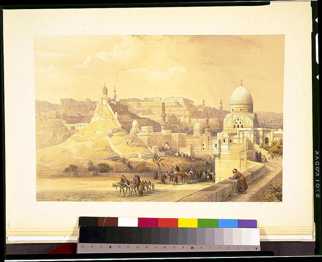 The citadel of Cairo, residence of Mehemit Ali / David Roberts, R.A.