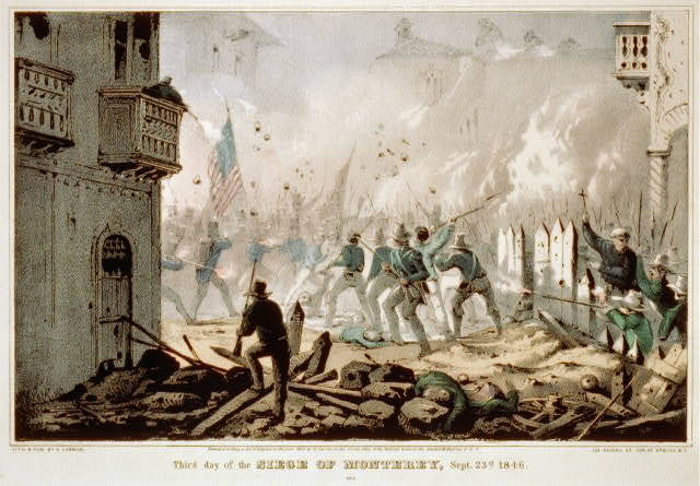 Third day of the siege of Monterey, Sept. 23rd. 1846
