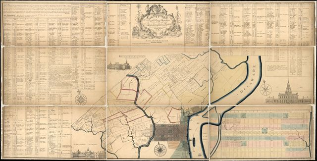 To the Honourable House of Representatives of the Freemen of Pennsylvania this map of the city and liberties of Philadelphia with the catalogue of purchasers is humbly dedicated by their most obedient humble servant, John Reed.
