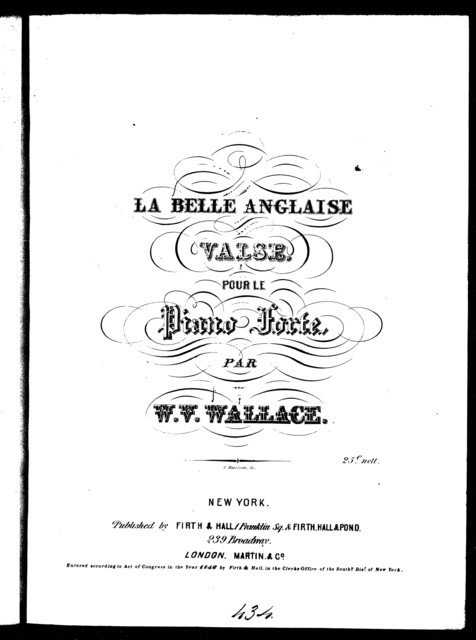 Waltz, La belle Anglaise