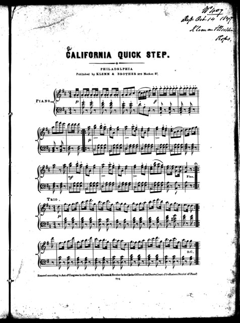 California quick step