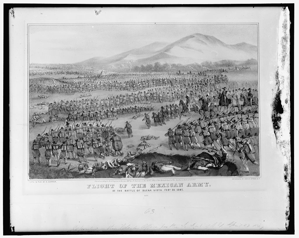 Flight of the Mexican Army at the Battle of Buena Vista, Feb. 23, 1847