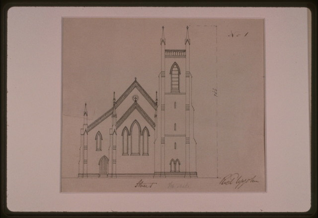 [Grace Church (Brooklyn, New York). Front elevation] / Rich Upjohn.