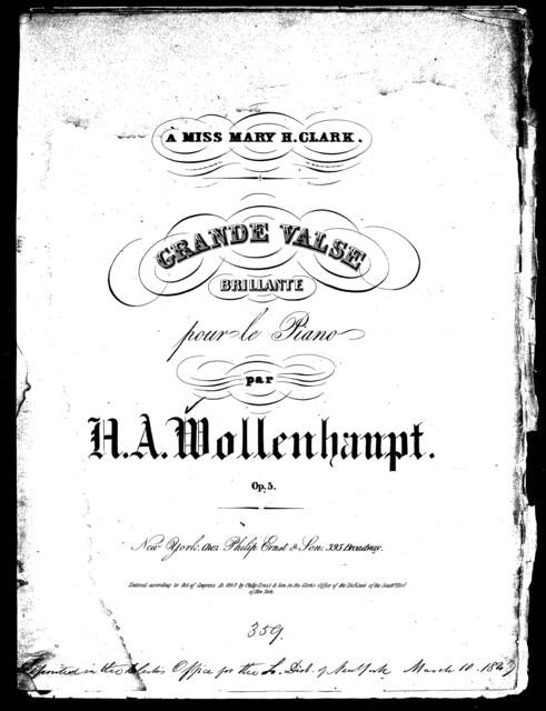 Grand valse, op. 5