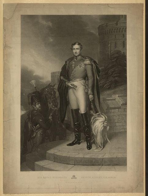 His royal highness Prince Albert, K.G. &c. &c. &c. / painted by John Lucas ; engraved by Henry S. Sadd, 1847.